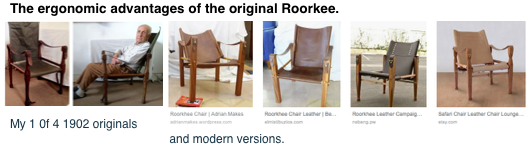 Roorkee chairs